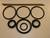 "Fox 2.5"" Shock Standard O-Ring Rebuild Kits For 7/8"" Shaft Hose Remote Reservoir - Click to enlarge"