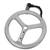 DEGREE WHEEL engraved billet alumium degree wheel with adjustable pointer - Click to enlarge